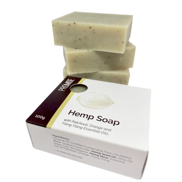 Promise Hemp and Patchouli Soap with Essential Oils